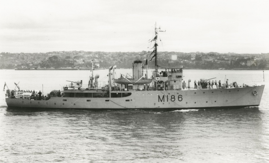 HMAS Cootamundra was one of sixty Australian Minesweepers built for service during World War II