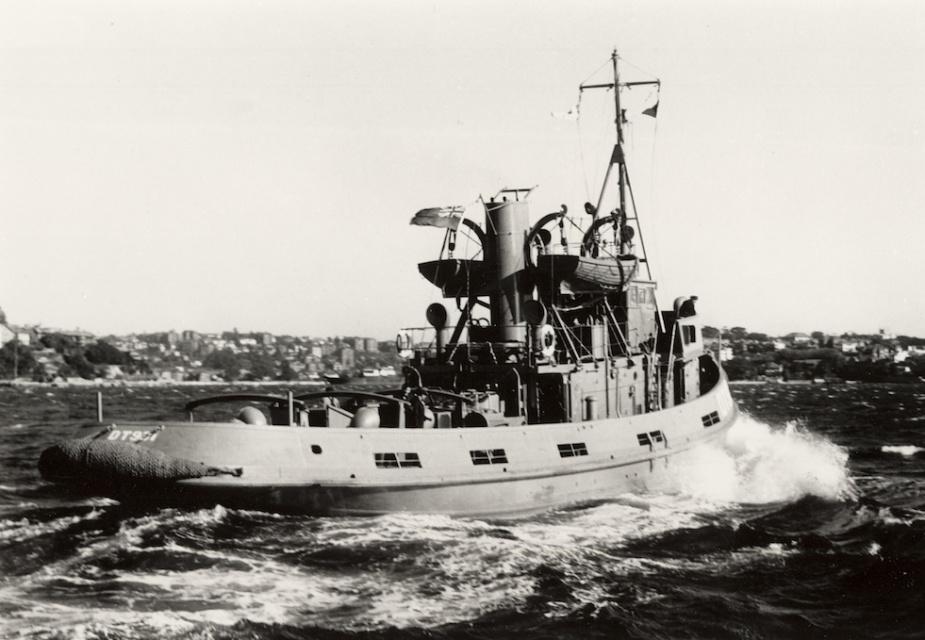 DT 931 on trials c. 1946