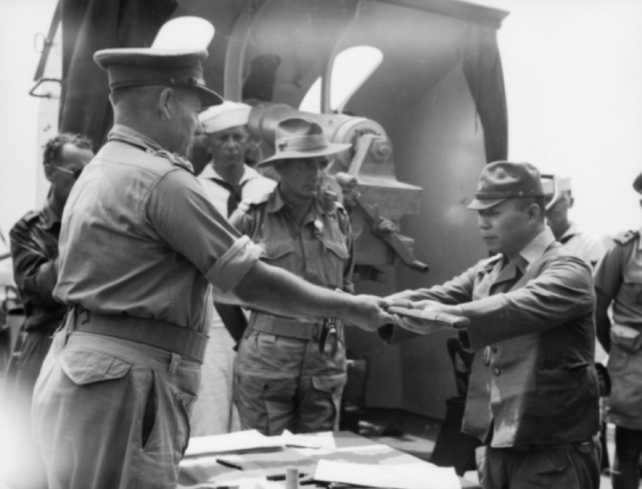 The Allied terms of surrender insisted that all Japan's officers and senior NCOs were to relinquish their swords. Many of these may now be found on display in museums and memorials around Australia.