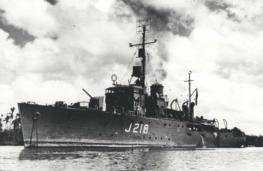 HMAS Kapunda was one of sixty Australian Minesweepers built for service during World War II.
