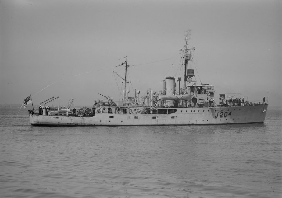 HMAS Katoomba was one of sixty Australian Minesweepers in commission during World War II