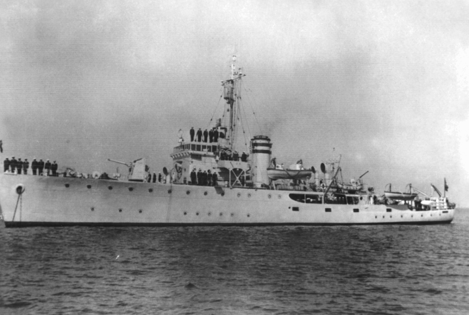 HMAS Launceston was one of sixty Australian Minesweepers built for service during World War II