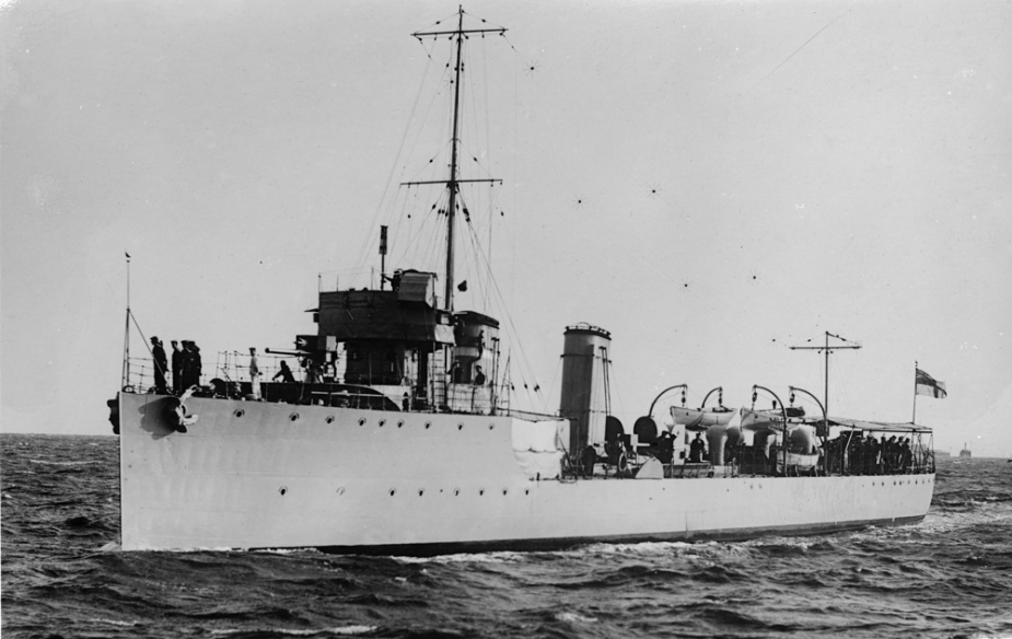 HMAS Warrego at sea soon after commissioning in the RAN.