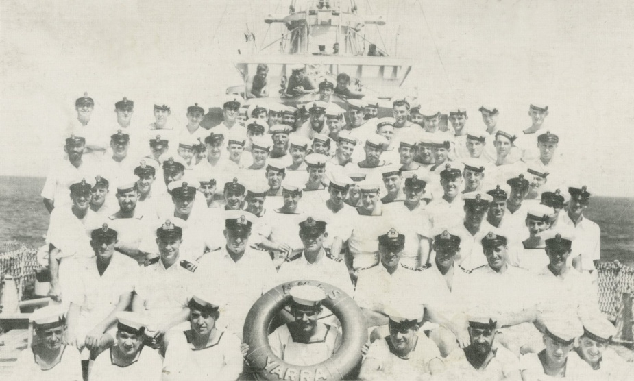Ship's Company of HMAS Yarra c.1941