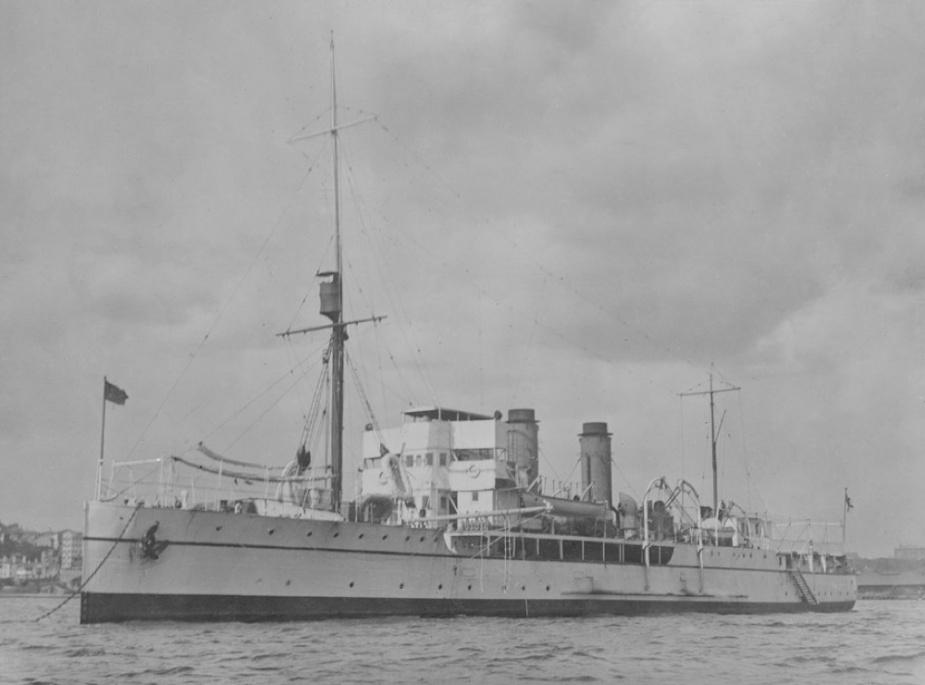 HMAS Geranium in Port Melbourne.