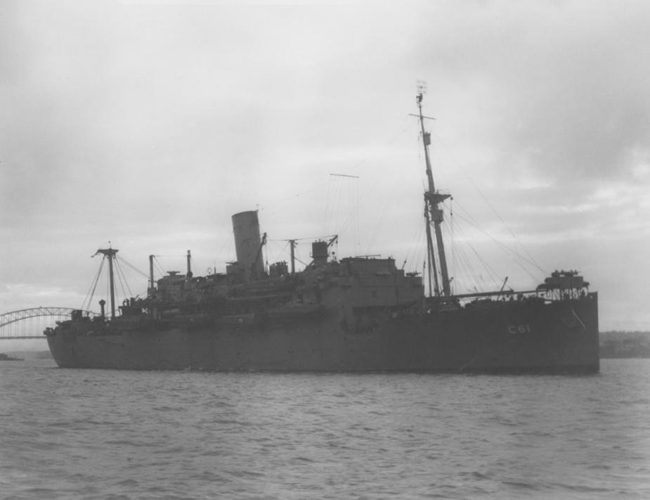 HMAS Westralia I in Sydney, Australia.