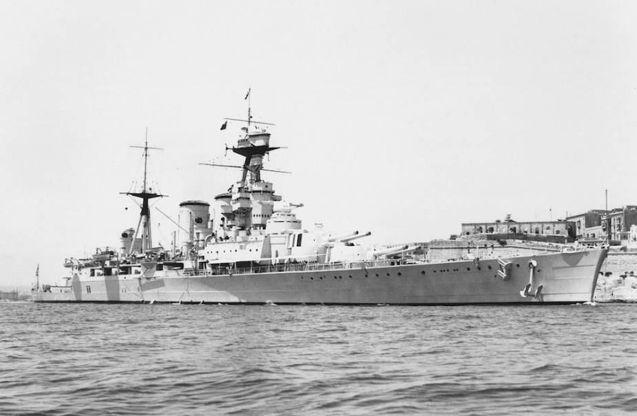HMS Hood, a symbol of British sea power for two decades (RAN)