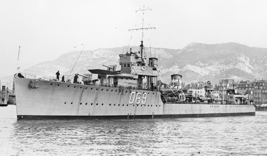 HMS Vendetta c.1925