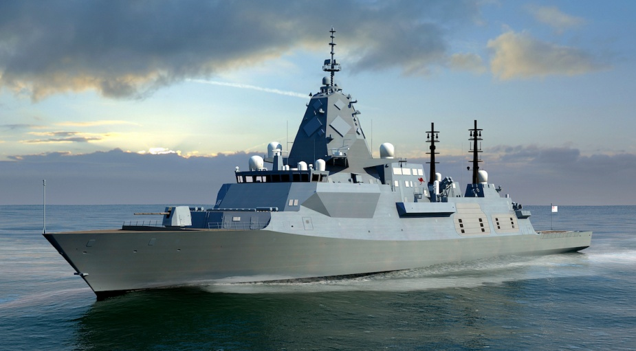 BAE Systems has been selected as the preferred tenderer with the Global Combat Ship - Australia for the Navy's future frigate capability.