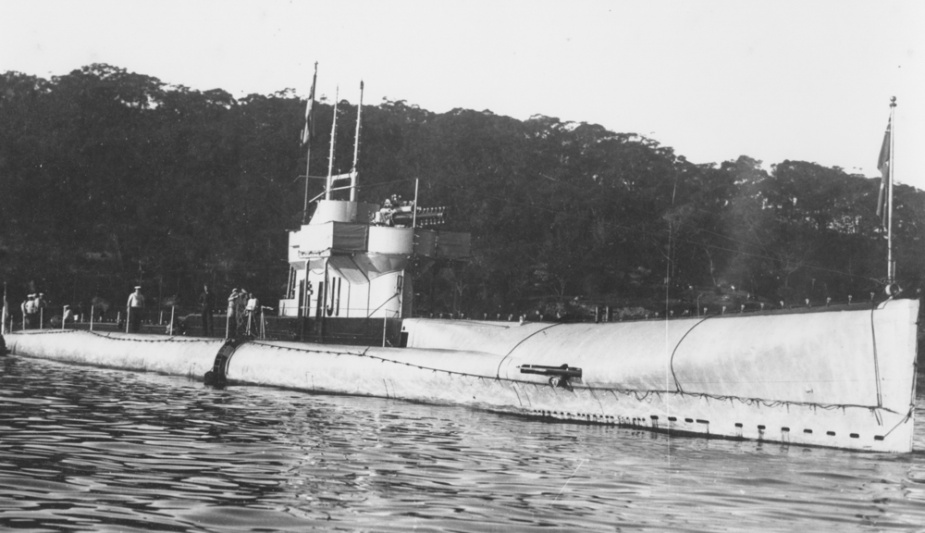 J1 in Sydney Harbour c. 1920
