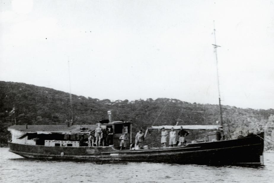 HMAS Krait in 1944.