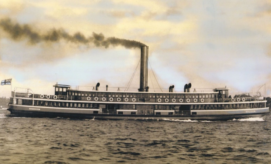 Kuttabul was a familiar sight on Sydney harbour for many years as she ferried commuters between Circular Quay and Milsons Point.
