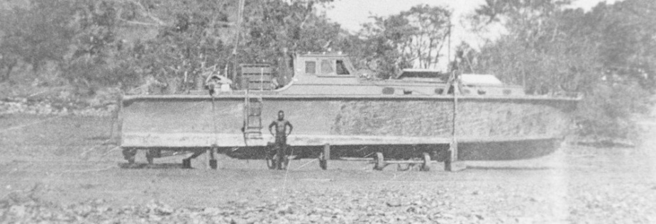 HMAS Larrakia decommissioned on 16 February 1944 and was put on blocks pending a private sale in 1946.