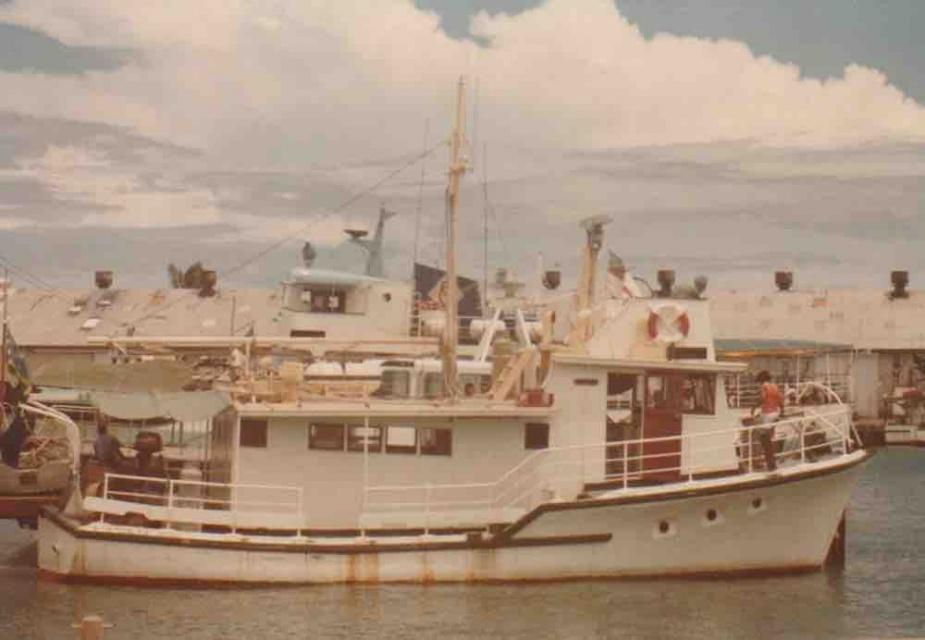 MV Waiko, 1982.