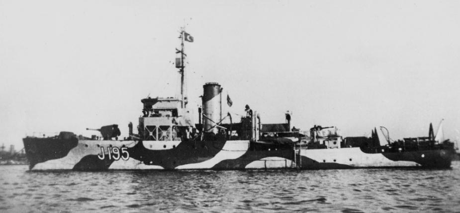 Maryborough in Alexandria, circa 1942. Note the disruptive pattern camouflage.