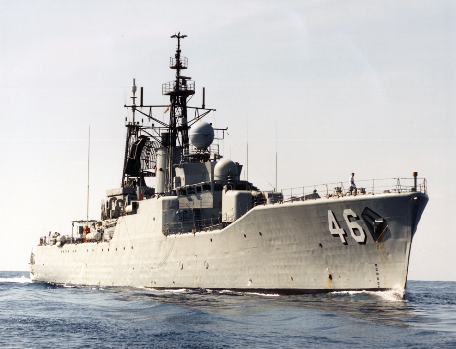 HMAS Parramatta was the first of six River Class Destroyer Escorts to be commissioned into the Royal Australian Navy