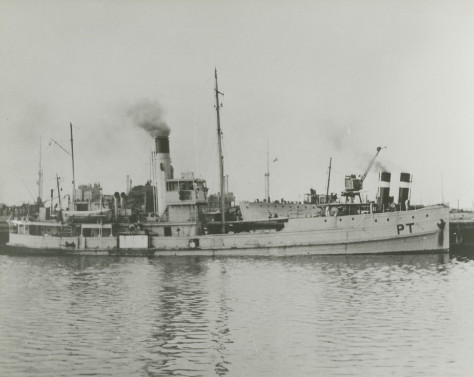 Paterson swept the approaches to Sydney Harbour on a daily basis