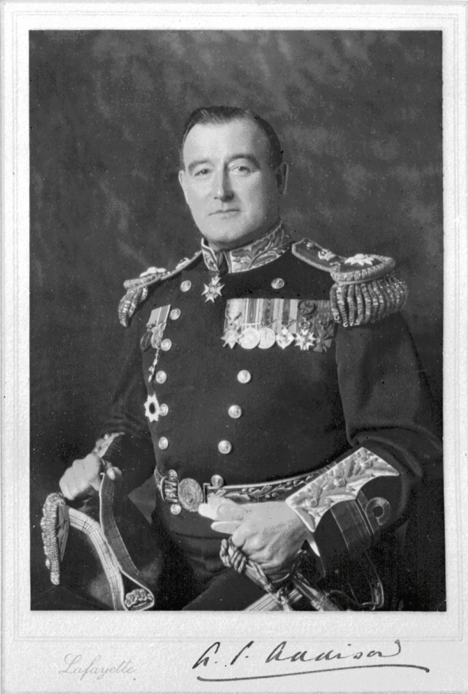 Admiral Sir Albert Percy Addison was Commander of His Majesty's Australian Fleet from 1922 to 1924.