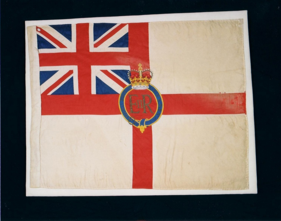 RAN Queen Elizabeth II Colour - White Ensign.