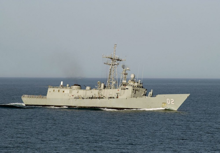 Canberra in Western Australian waters c. 2002