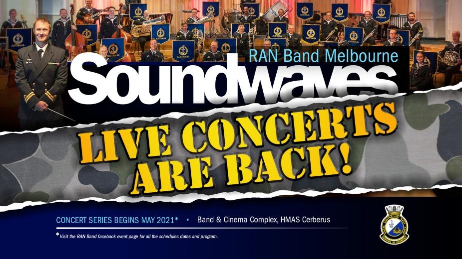 RAN Band Soundwaves graphic