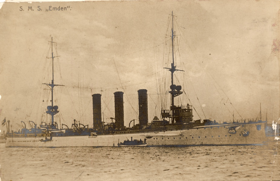 The successful German raider SMS Emden
