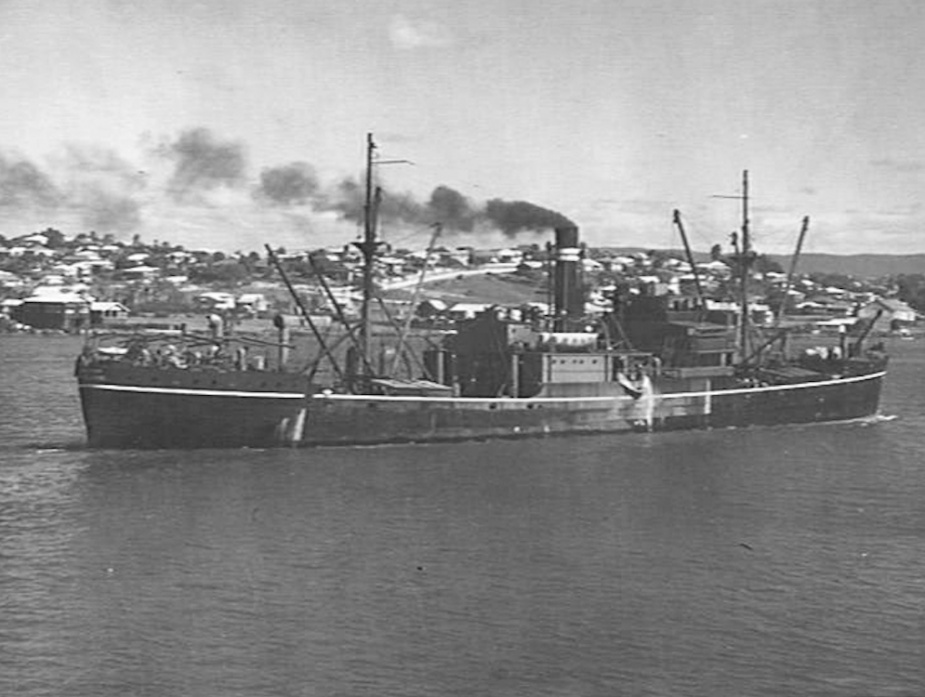 The cargo vessel SS Macumba
