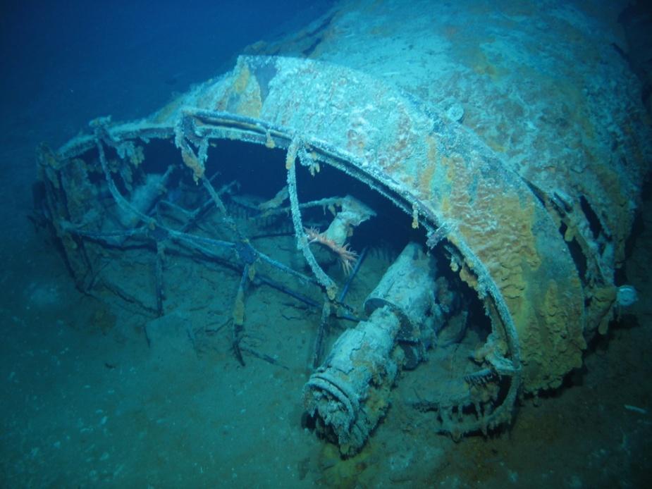 Aft Funnel Wreck