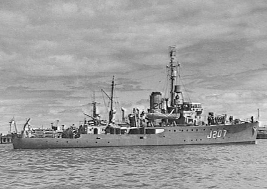 Mildura formed part of the 20th Minesweeping Flotilla.