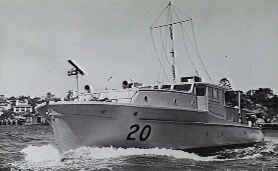 HMAS Marlean was present in Sydney Harbour on the night of the Japanese midget submarine attack on 31 May 1942, and fired at various potential, unconfirmed submarine sightings.
