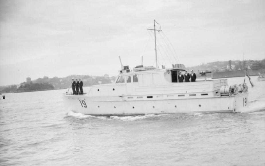 HMAS Nereus was a Cabin Cruiser built by famed Sydney boatbuilding company, Halvorsens.