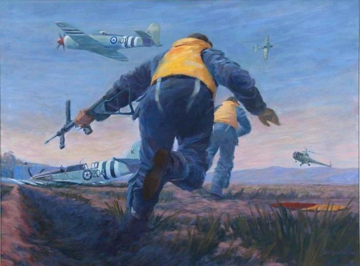 The daring rescue of MacMillan and Hancox