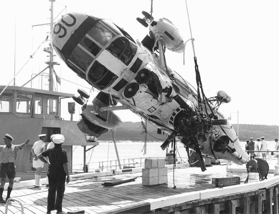 On 13 November 1975 Shark 06 was recovered in a difficult salvage operation from a depth of 210 feet.