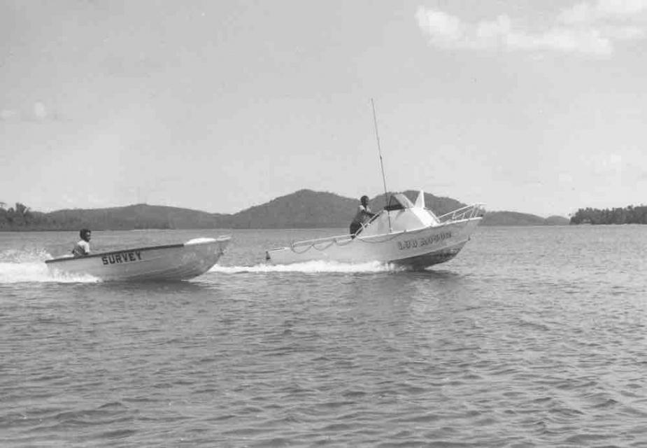 Frank Fere' Ansia and Clifford Olisukulu, Marau Sound, 1982.
