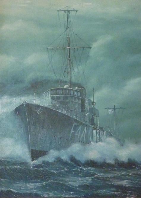 HMAS Stalwart by Ian Hansen (Naval Heritage Collection)