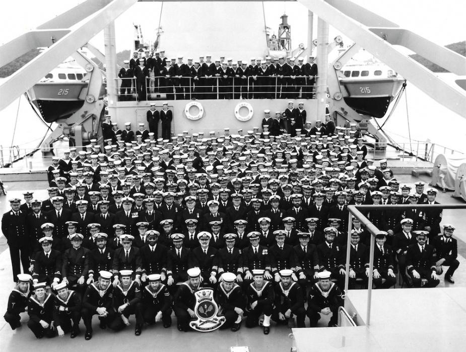 HMAS Stalwart's ship's company, 1983