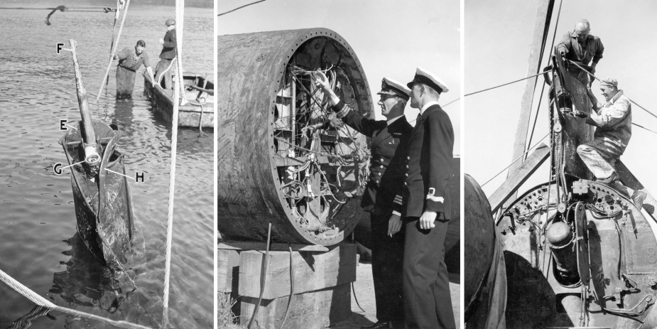 Valuable intelligence was obtained from the captured midget submarines