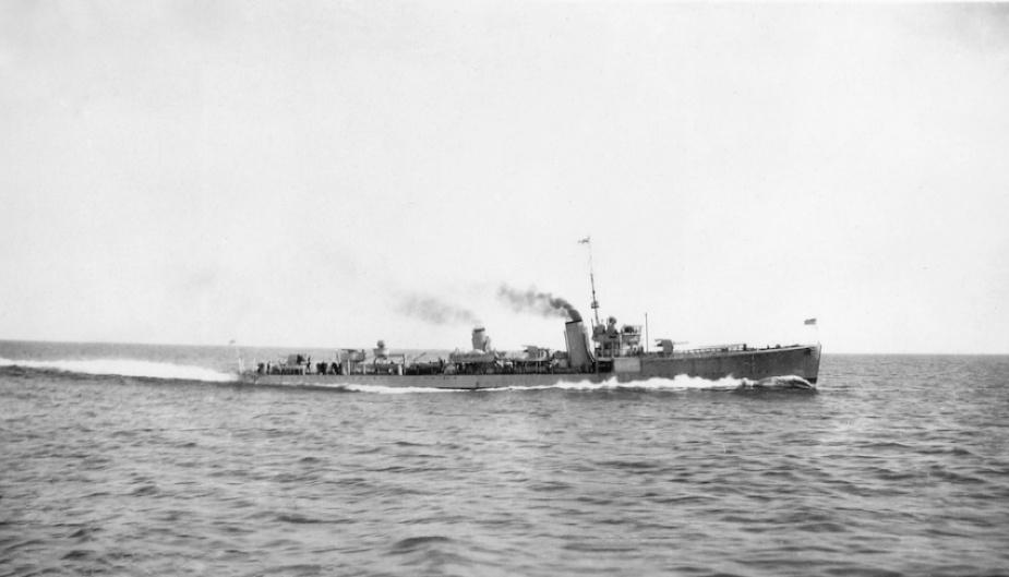 Swordsman at sea c.1929