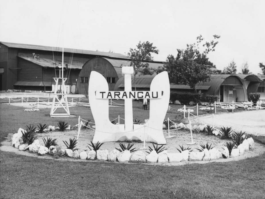 HMAS Tarangau formally commissioned on 1 April 1950.