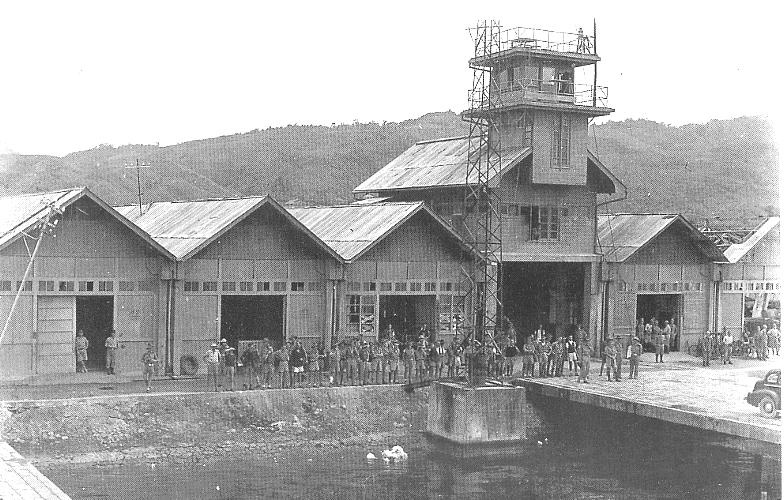The wharf at Ambon. (Photo courtesy of Peter Miles)