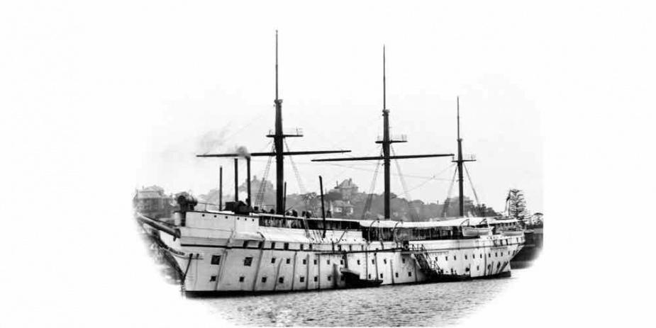 HMAS Tingira was John Bastock's first ship which he joined as a Boy 2nd Class in 1923.