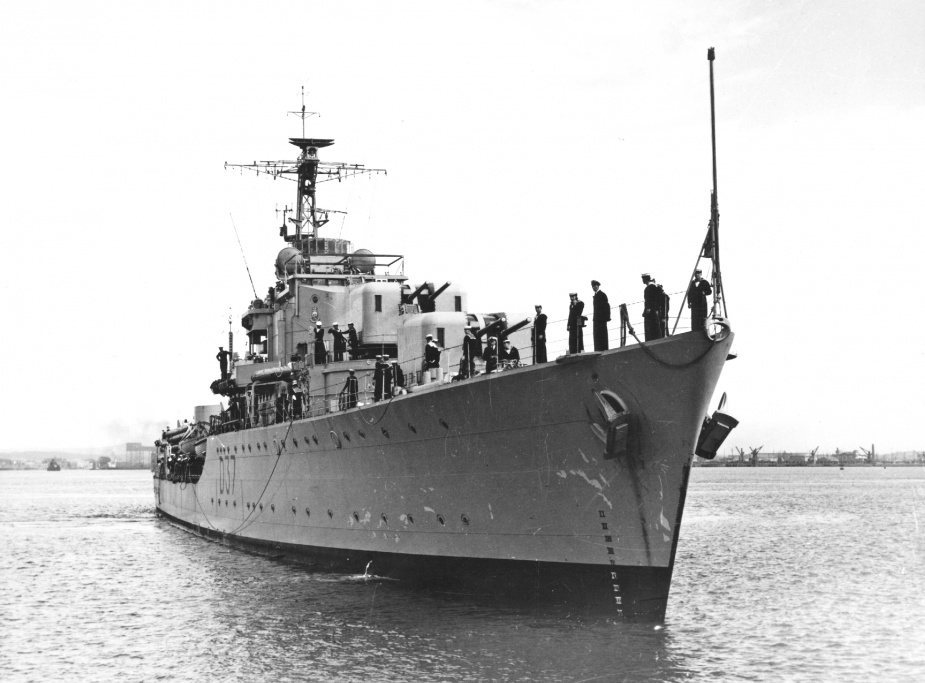 During her ten years in commission, Tobruk made a significant contribution to maritime security in Australian waters and as part of the Far East Strategic Reserve.