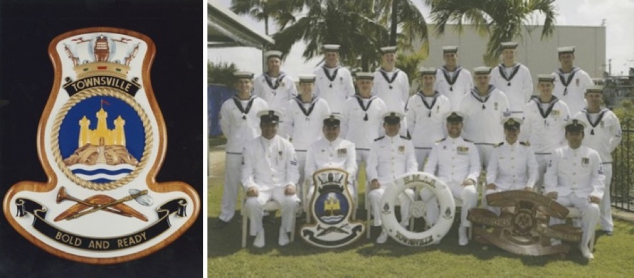 Decommissioning crew of HMAS Townsville (II).