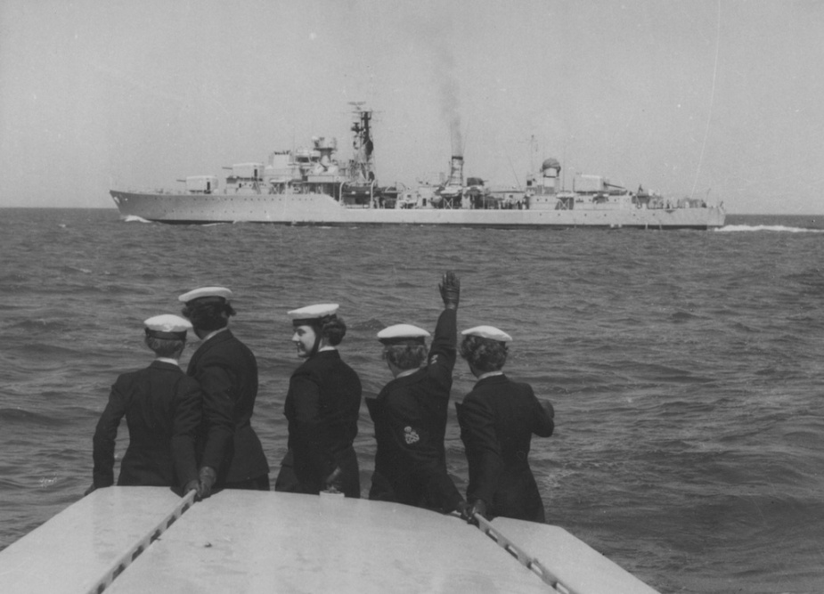 The Daring Class, with their distinctive destroyer lines and impressive main armament, were the culmination of more than 50 years of British destroyer design and development.
