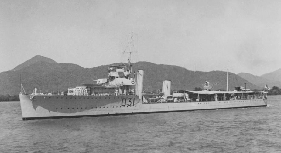 HMAS Voyager (I).