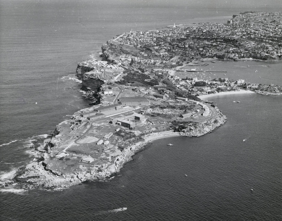 HMAS Watson (circa 1967) was home to the Sydney Port Division of the RANR.