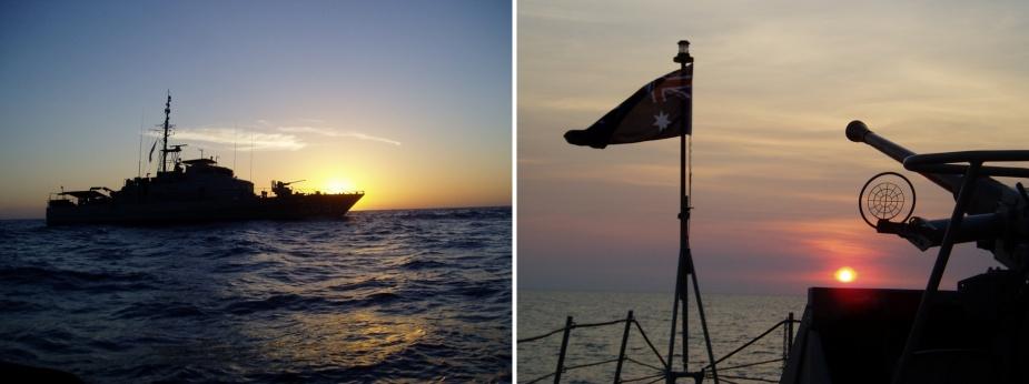 HMAS Whyalla.
