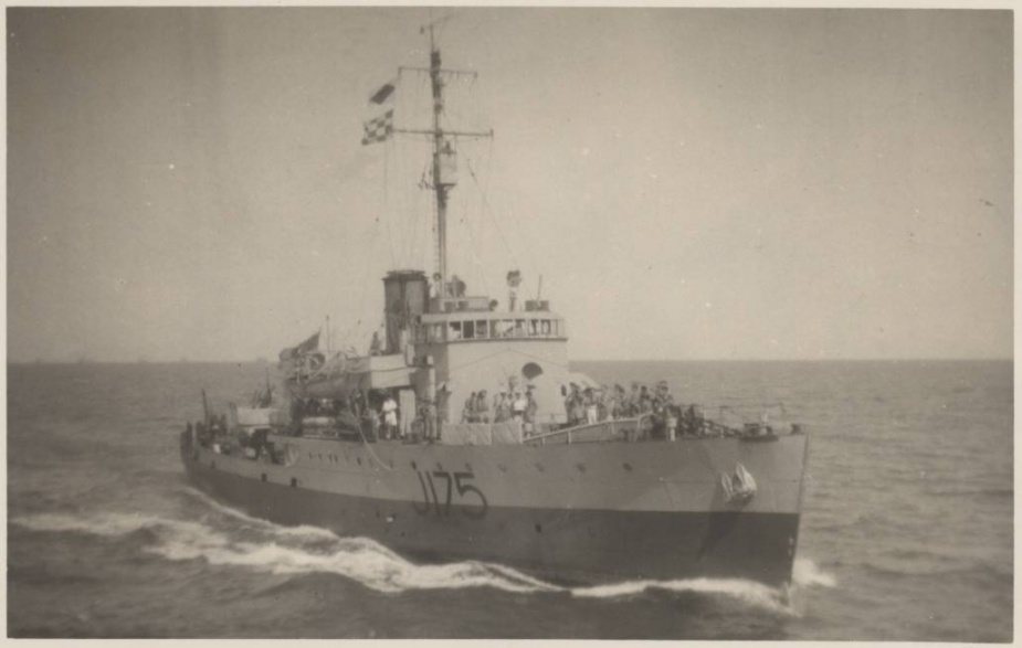 HMAS Cessnock was one of sixty Australian Minesweepers built for service during World War II
