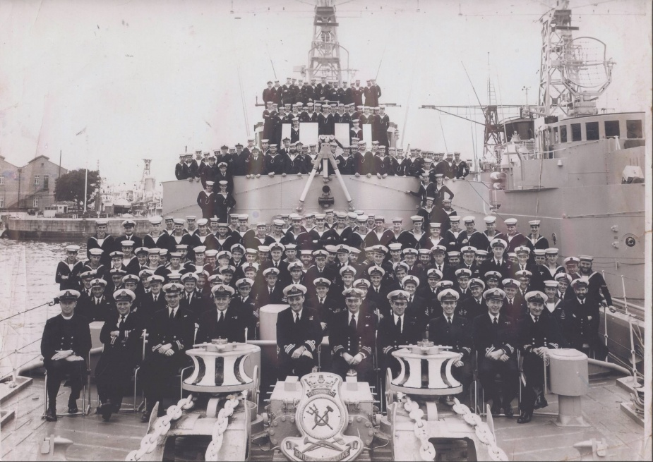 Quickmatch's ships company c.1957