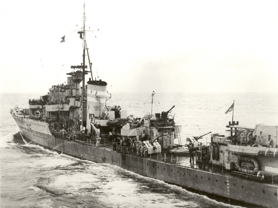 HMAS Nizam decommissioned on 17 October 1945 after steaming over 290,000 miles during World War II